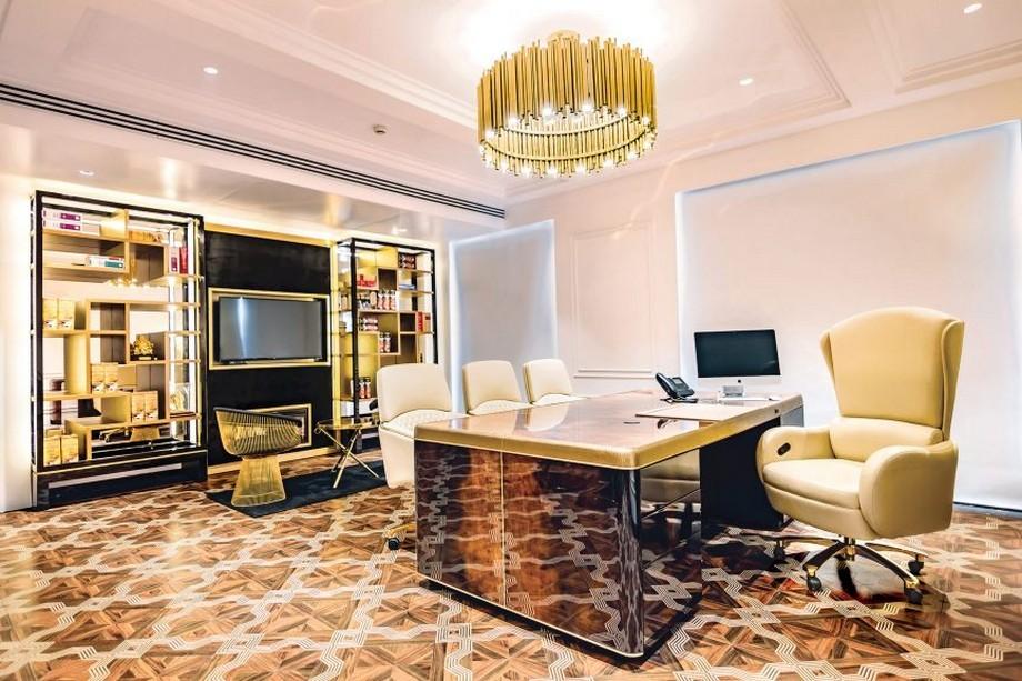 Thiết kế nội thất phòng giám đốc sang trọng, đẹp, uy nghi