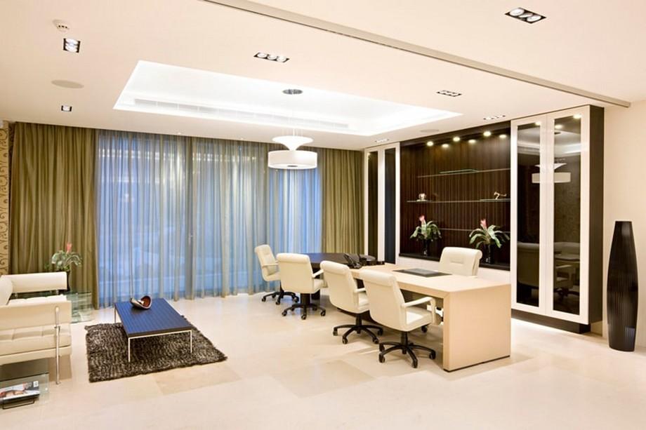 Thiết kế nội thất văn phòng giám đốc theo phong cách hiện đại