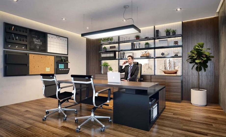 Thiết kế nội thất phòng giám đốc đẹp đúng tiêu chuẩn
