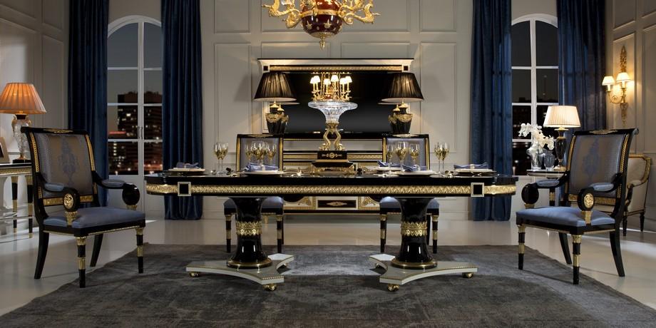Thiết kế nội thất văn phòng phòng giám đốc theo phong cách tân cổ điển