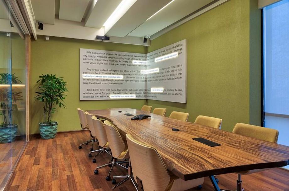 thiết kế phòng họp đẹp, hiện đại