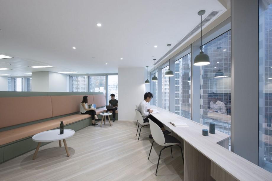 Kết cấu của văn phòng với phong cách nội thất đương đại