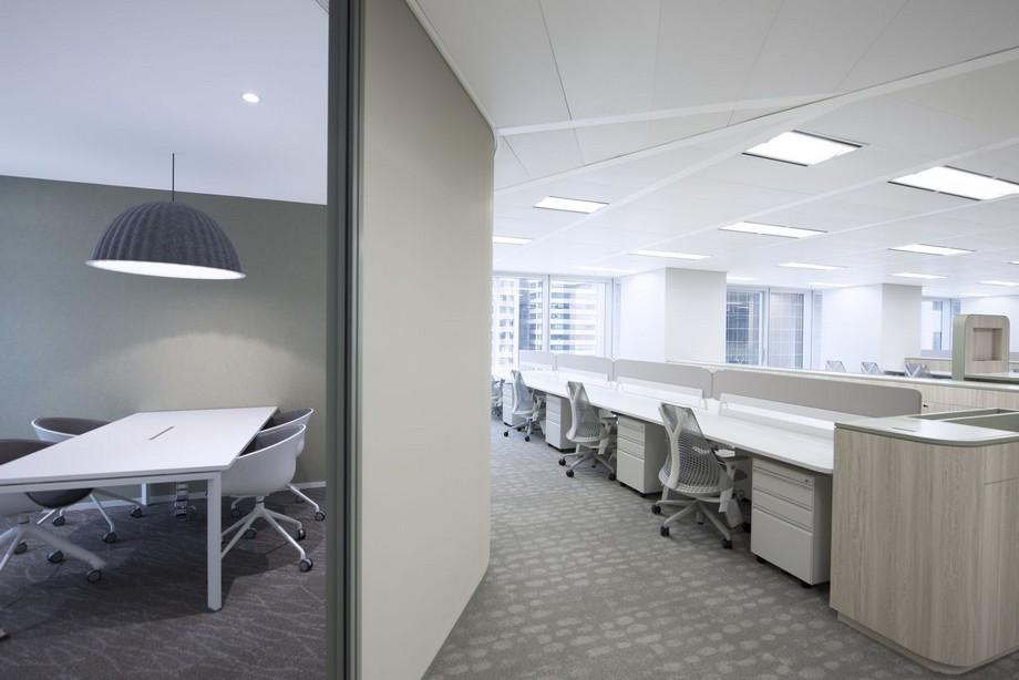 Ánh sáng trong thiết kế văn phòng đương đại