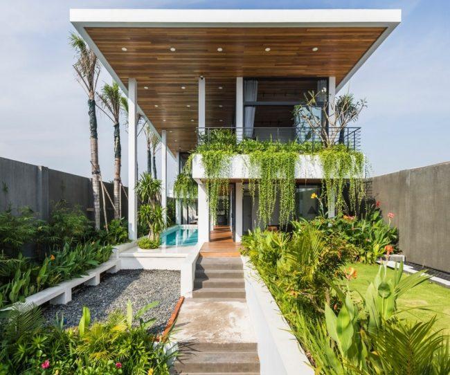 Sự phá cách độc đáo trong mẫu thiết kế nhà ở rộng 700m2 tại Mỹ Tho