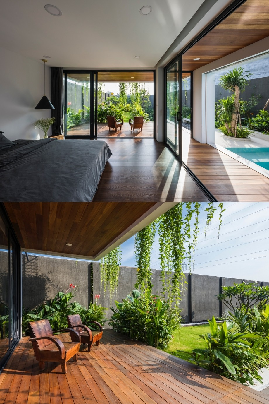 Thiết kế phòng ngủ theo phong cách mở
