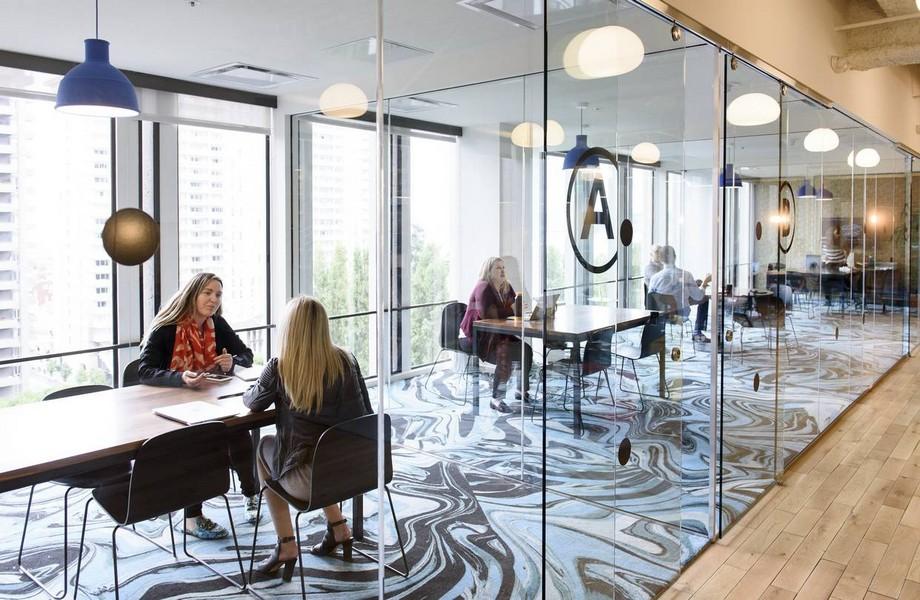 Thiết kế không gian làm việc chung coworking space đẹp