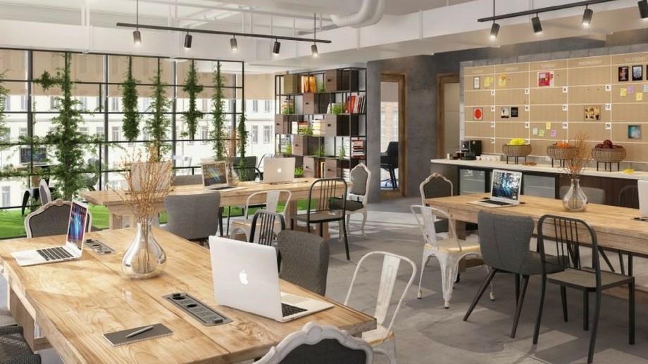 Thiết kế coworking space trong khách sạn