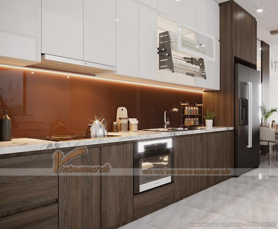 Thiết kế phòng bếp hiện đại, tiện nghi