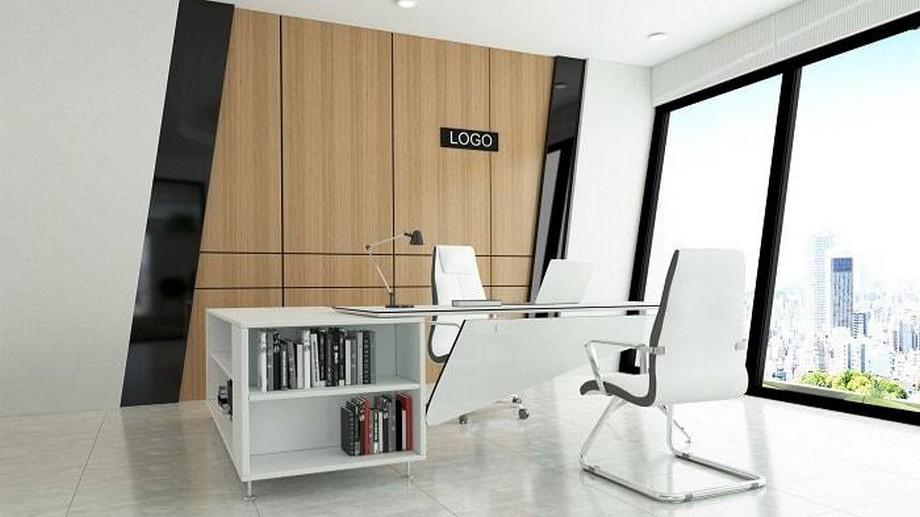 Mẫu thiết kế văn phòng giám đốc đúng tiêu chuẩn, hợp xu hướng mới