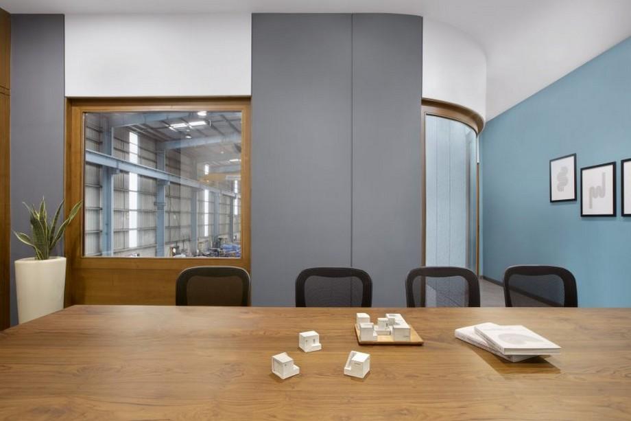 cách Thiết kế văn phòng kết hợp nhà máy đẹp