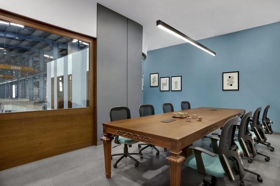 Thiết kế văn phòng kết hợp nhà máy đẹp