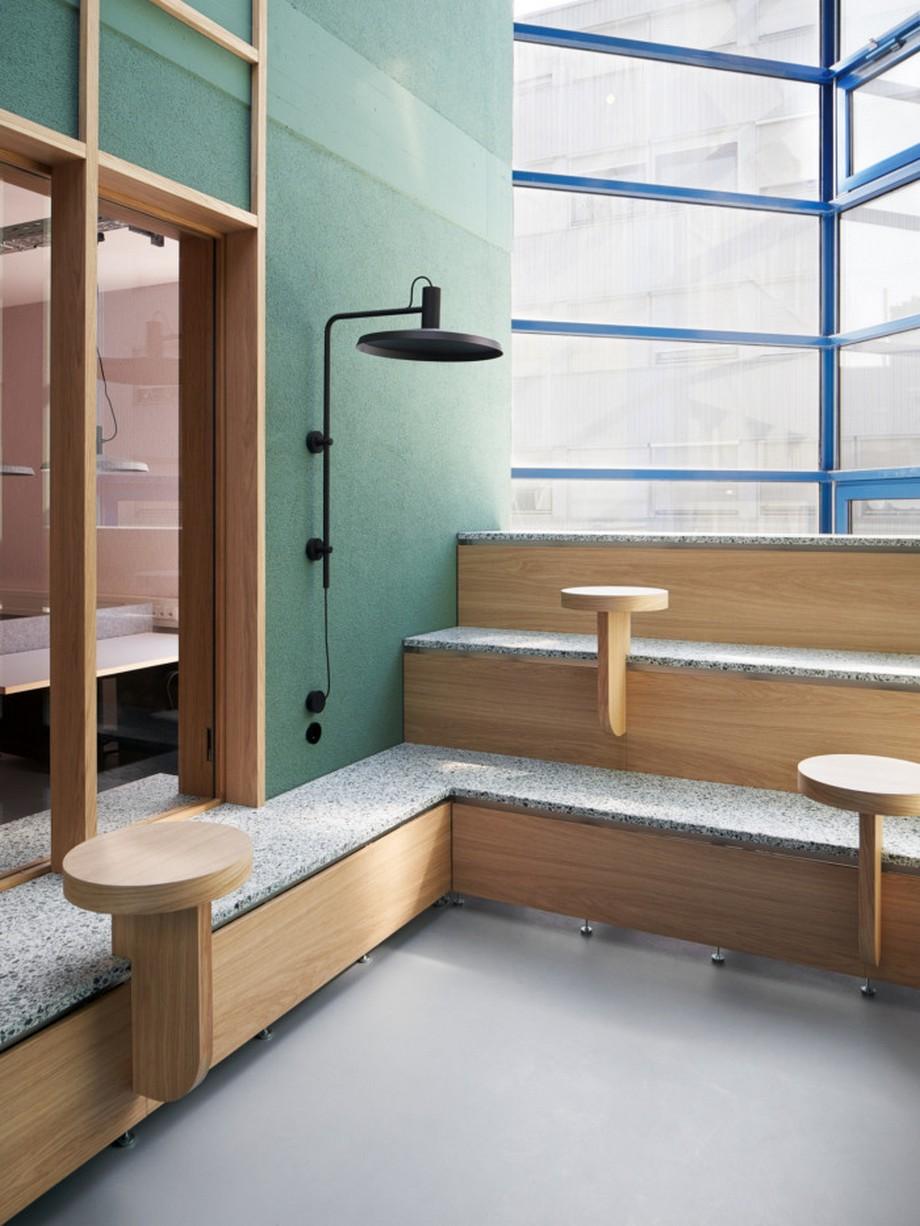 Thiết kế không gian làm việc chung Urban space trải nghiệm như quán cafe hiện đại