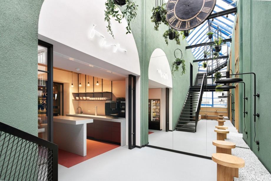 Thiết kế văn phòng coworking Urban Space mang nét đặc trưng không gian đô thị