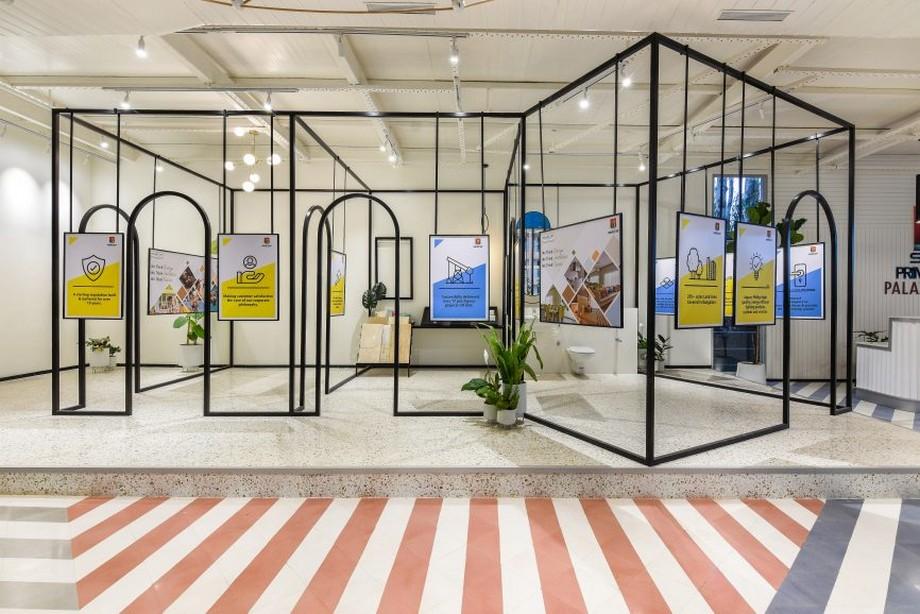 Thiết kế văn phòng đương đại tích hợp khu vực trưng bày sản phẩm
