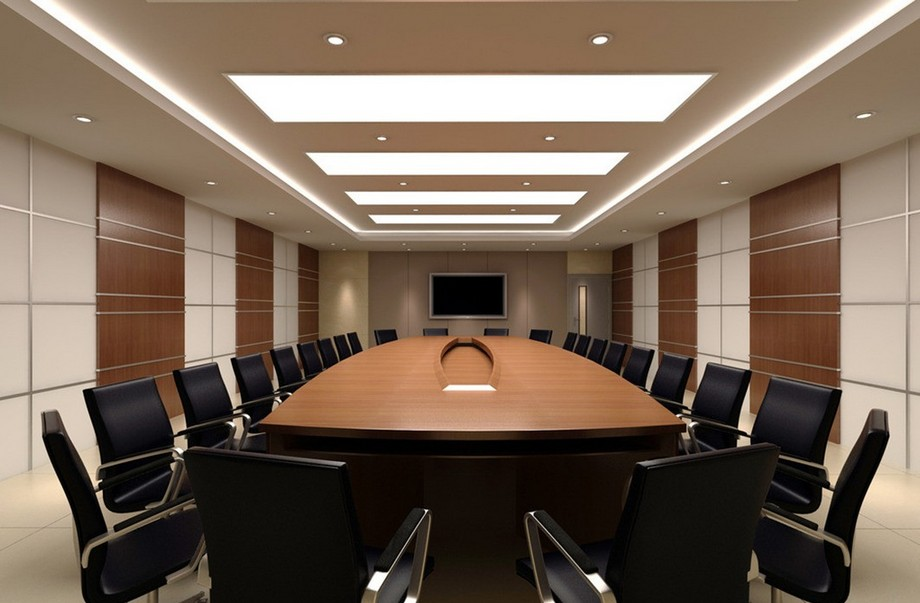 Tiêu chuẩn về diện tích phòng họp lớn