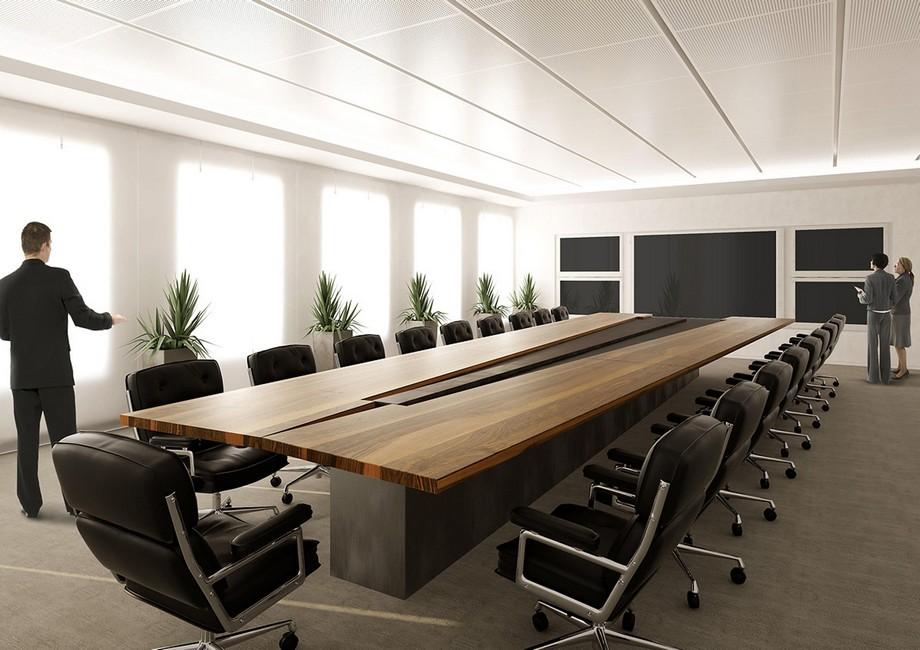 Tiêu chuẩn về kích thước bàn họp