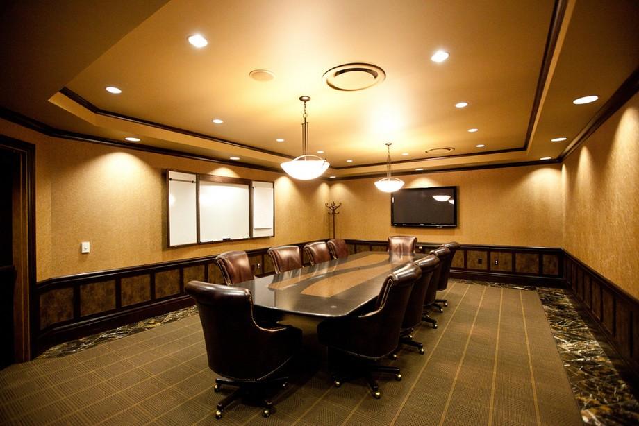 Những tiêu chuẩn trong thiết kế phòng họp mới nhất