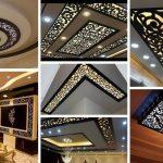 Ý tưởng thiết kế trần thạch cao kết hợp gỗ CNC mang đến không gian sáng tạo