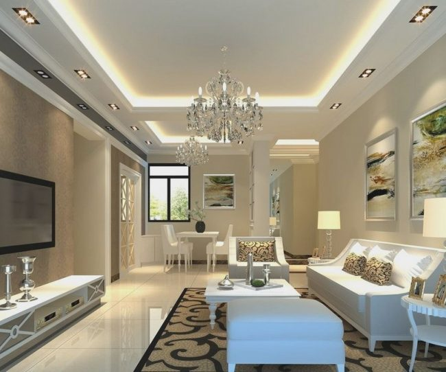 cách sử dụng trần thạch cao biến căn nhà nhỏ hẹp trở nên hợp xu hướng