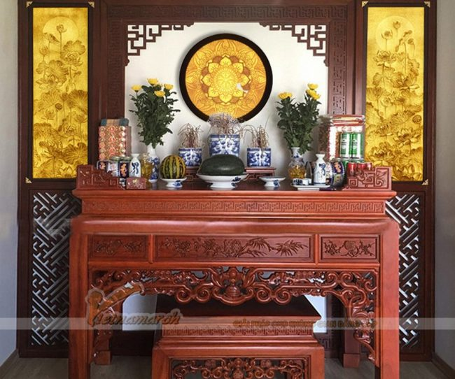 Hướng treo tranh trúc chỉ, tranh giấy dừa hợp phong thủy
