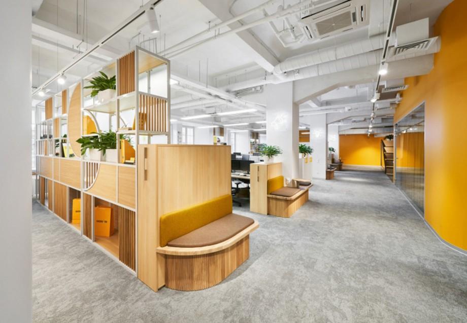 Vật liệu hoàn thiện trong thiết kế thi công văn phòng