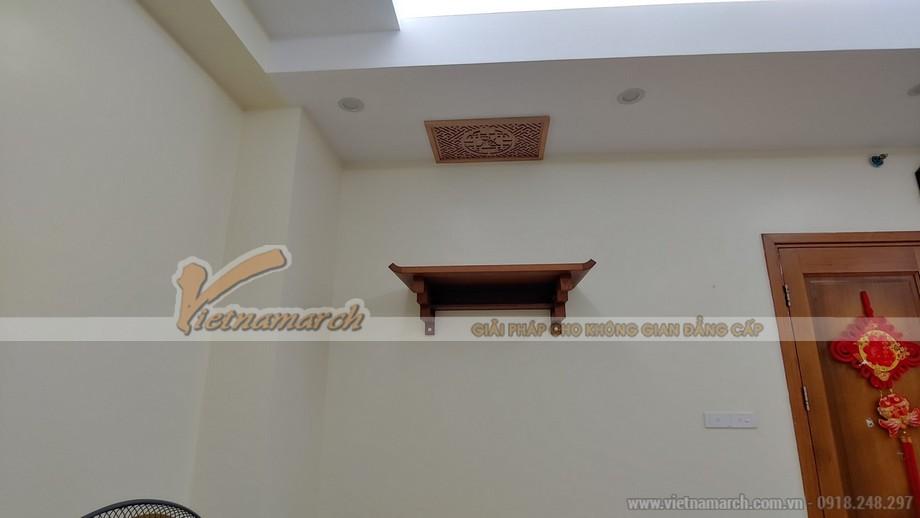 Bàn thờ treo BTT02 kích thước 480x810mm cho chung cư