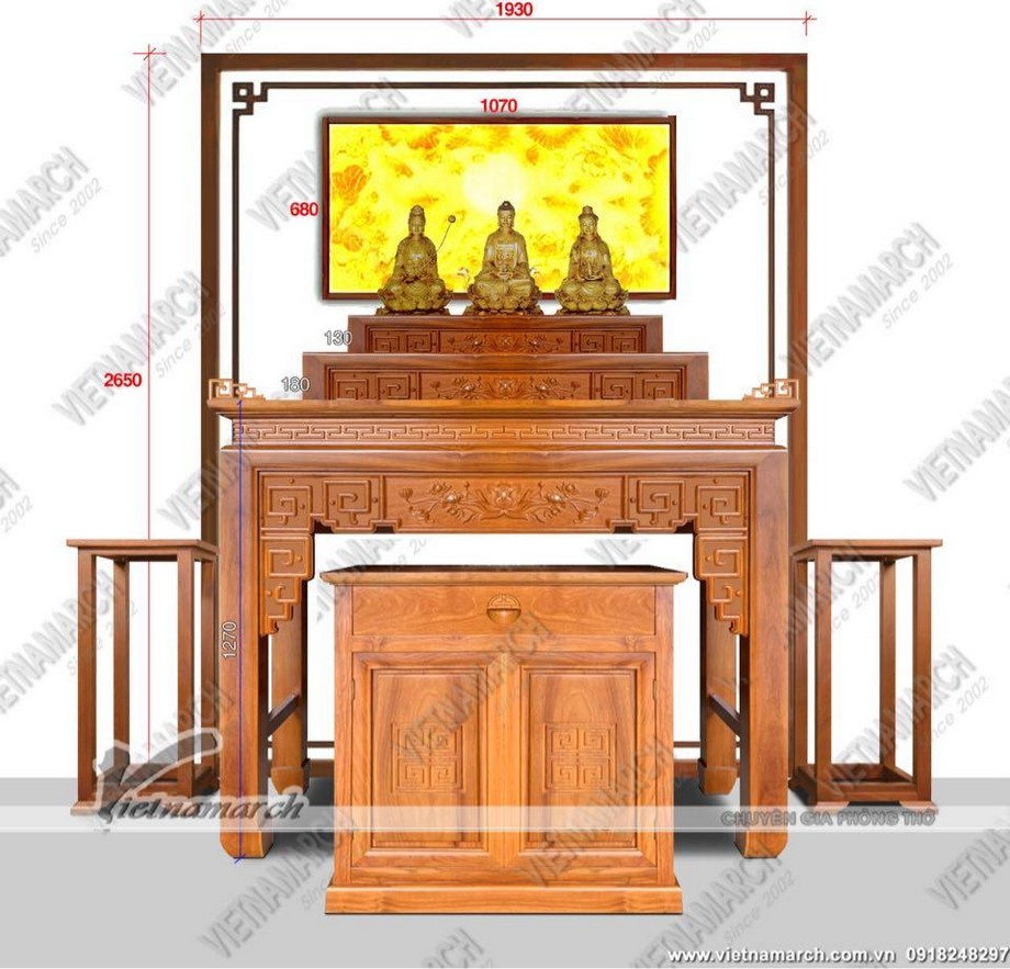 Mua bàn thờ ở Hai Bà Trưng