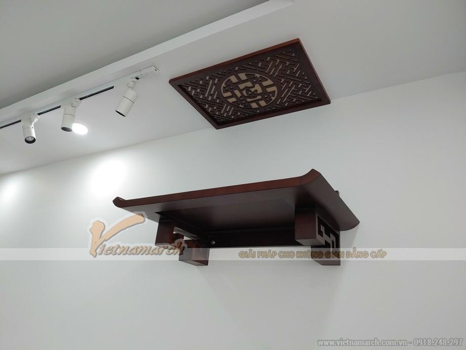 mẫu bàn thờ treo tường chung cư BTT04