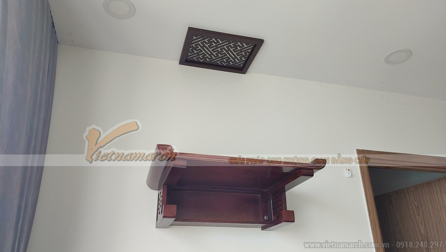 Bàn thờ treo BTT10 chữ Thọ cho chung cư ecogreen tại Nguyễn Xiển