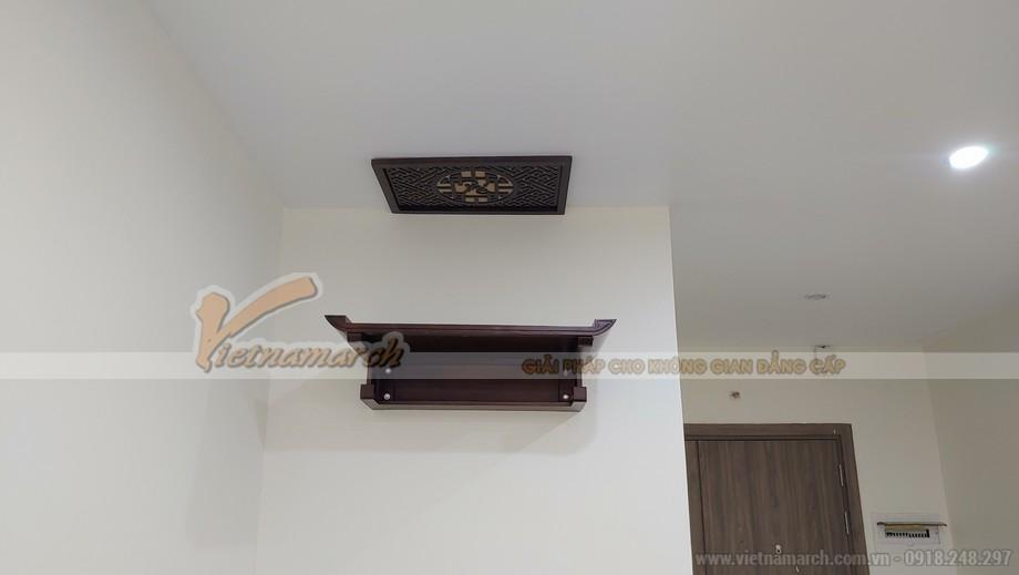 Bàn thờ treo chữ Thọ cho chung cư Horizon 87 Lĩnh Nam