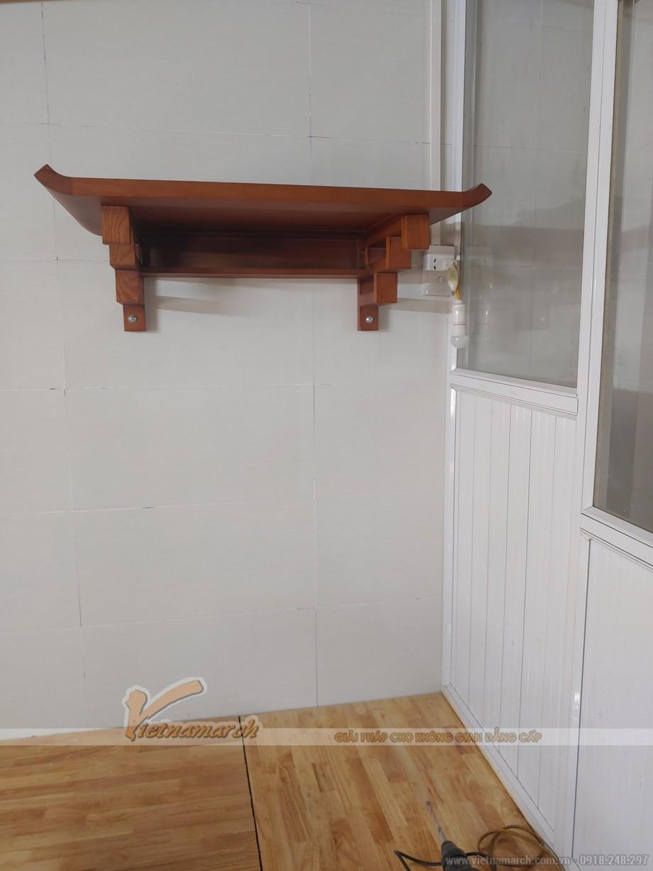 Mẫu bàn thờ treo cho khu đô thị đại kim