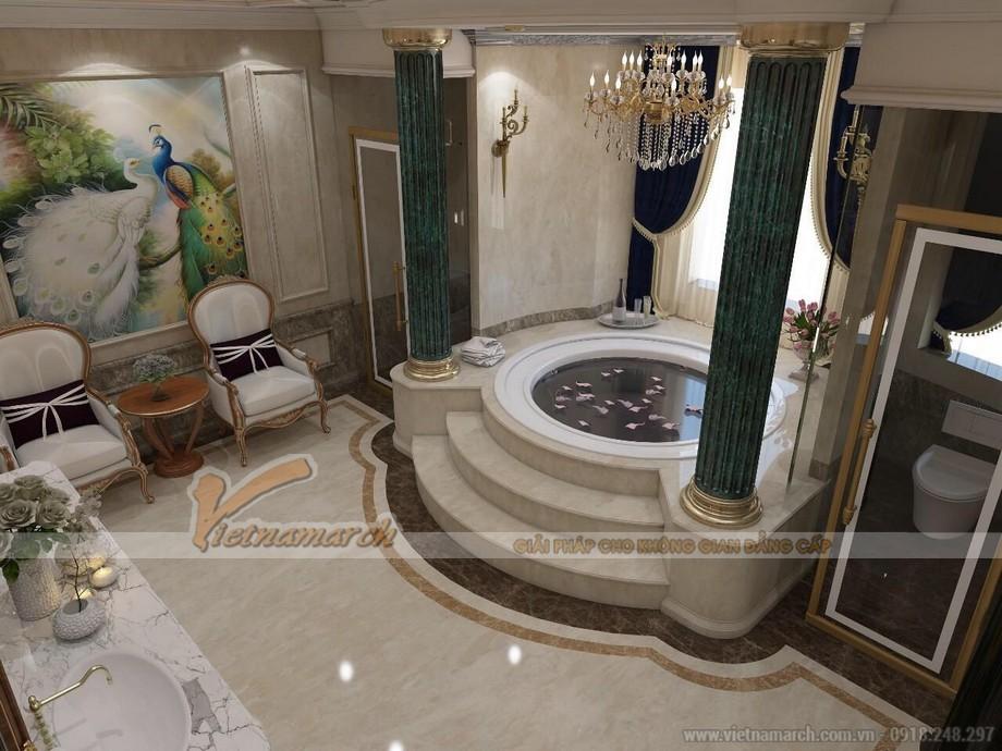 bản vẽ thiết kế biệt thự 4 tầng full tại Hải Phòng