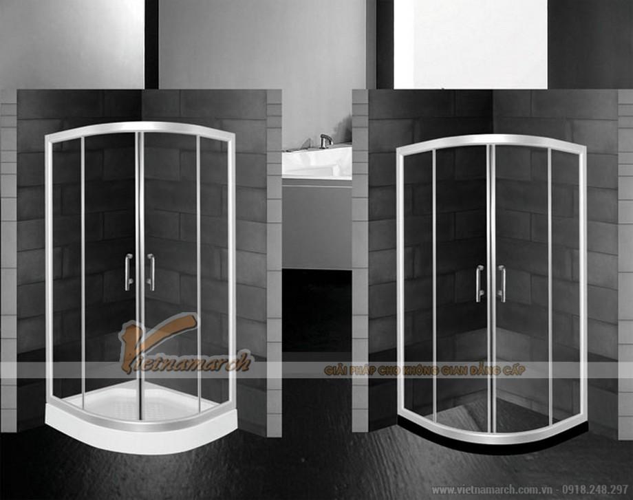 Bồn tắm đứng EUROCA SR-G900đặt góc