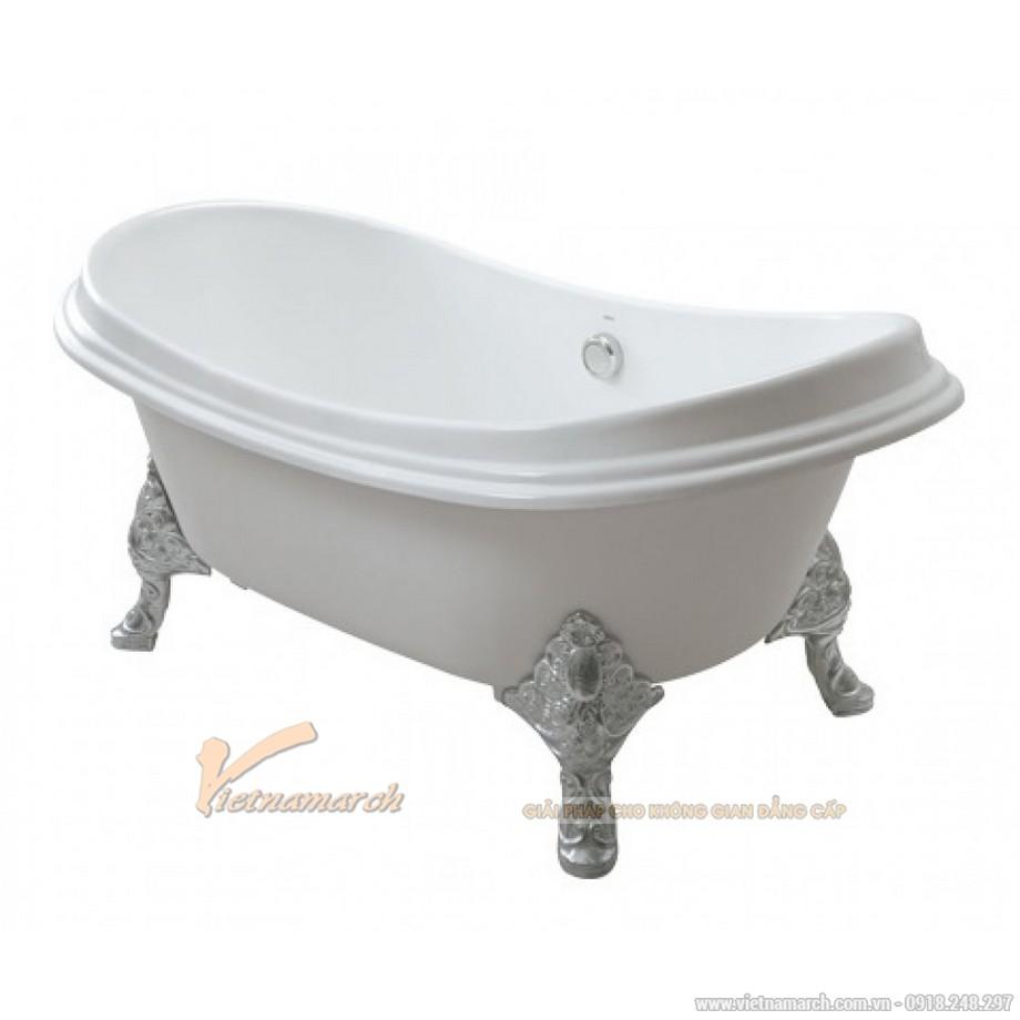 Bồn tắm TOTO FBY1756PWNE#W gang tráng men đặt sàn 1m75