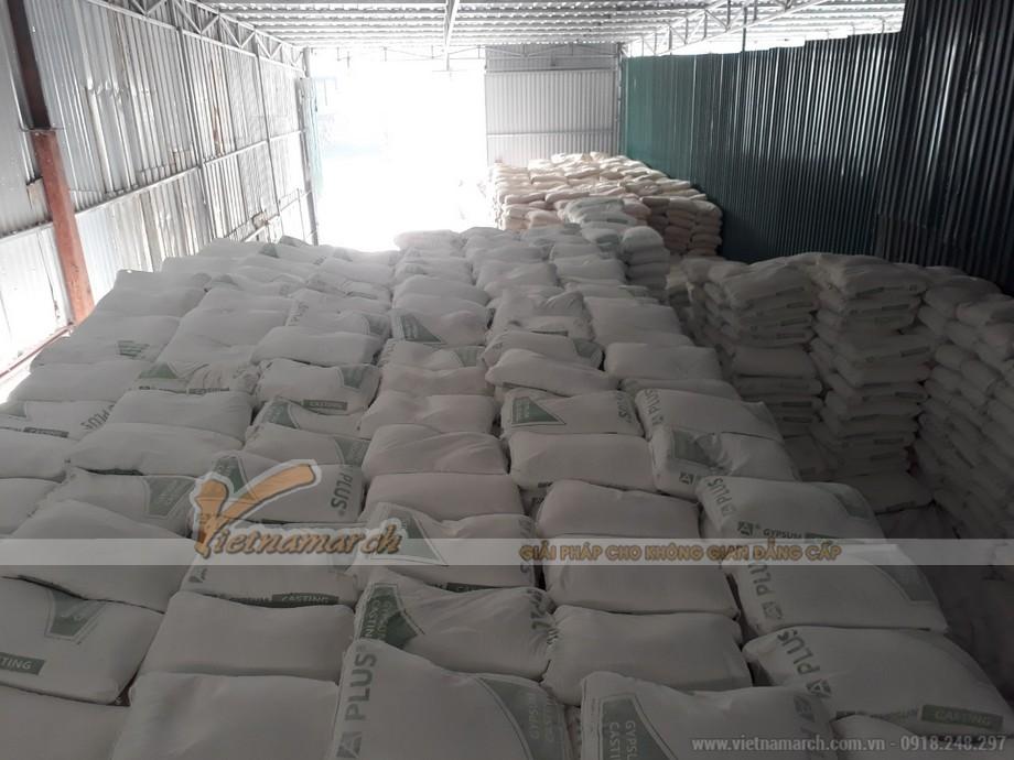 Kho hàng bột thạch cao tại Vietnamarch