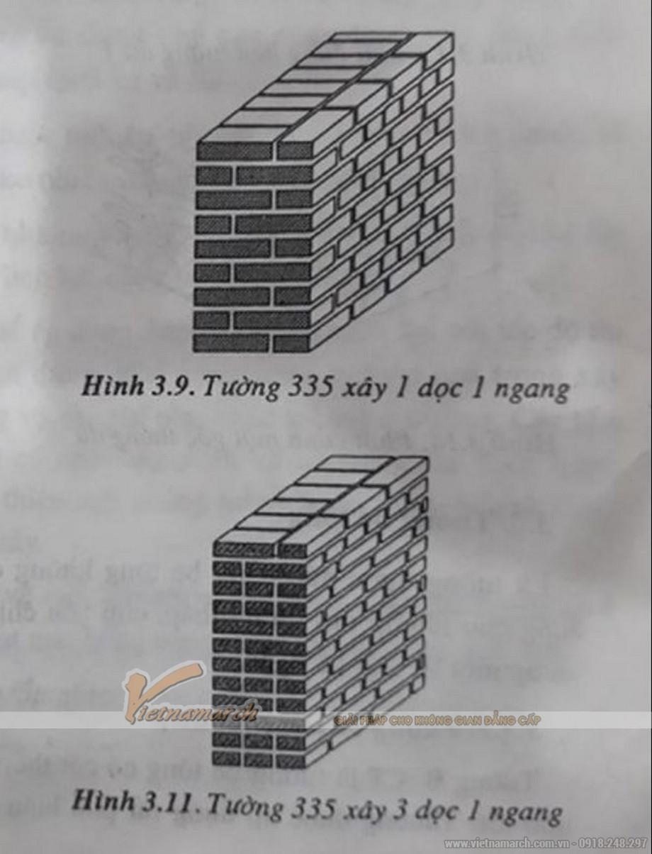 Cách xây tường 335