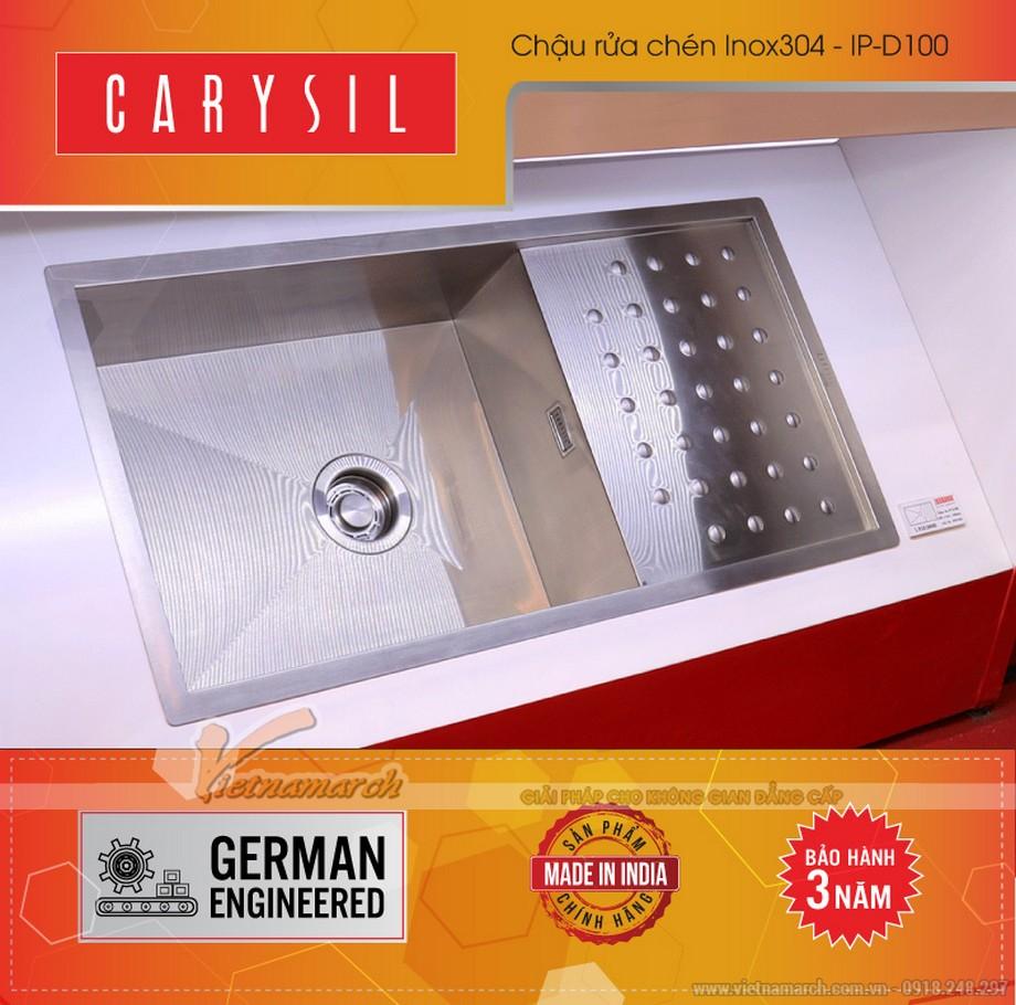Chậu rửa đơn có bàn Carysil 304-IPD100-02