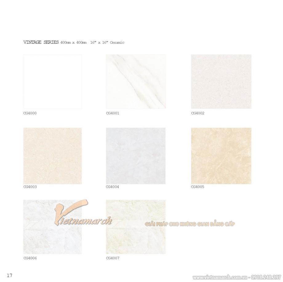 Mẫu gạch lát Bạch Mã 40x40