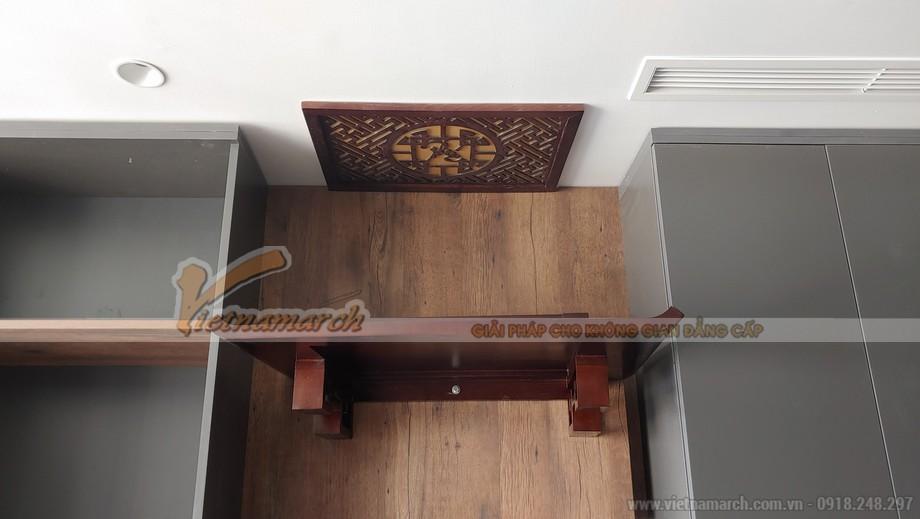 bàn thờ treo BTT04 cho chung cư Vincom Trần Duy Hưng