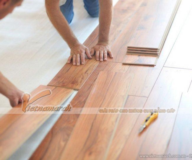 Hướng dẫn cách lát sàn gỗ công nghiệp