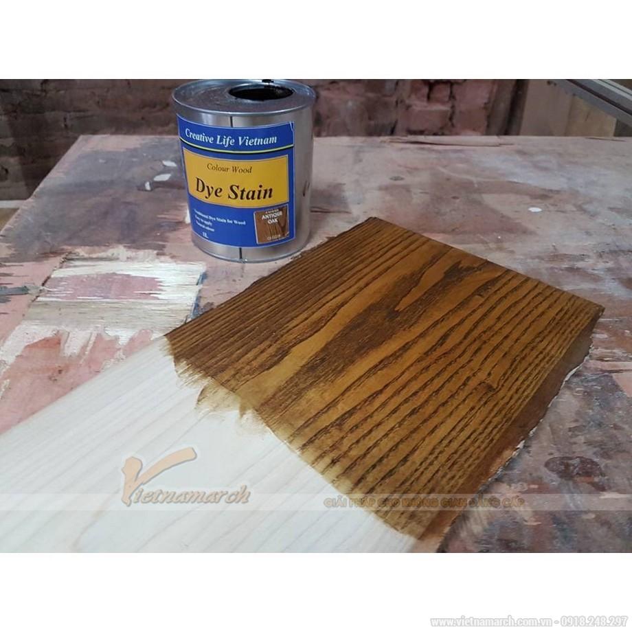 Các bước lau sơn trên gỗ