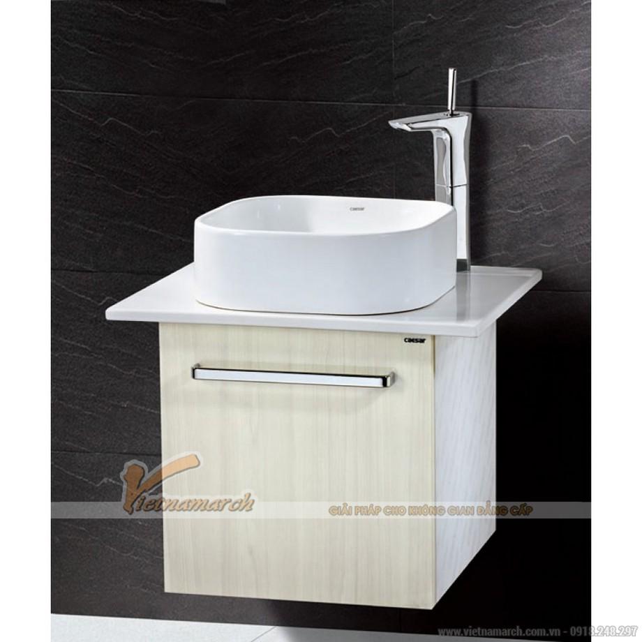 Chậu Rửa Lavabo Đặt Bàn CAESAR LF5256 Nắp Sứ