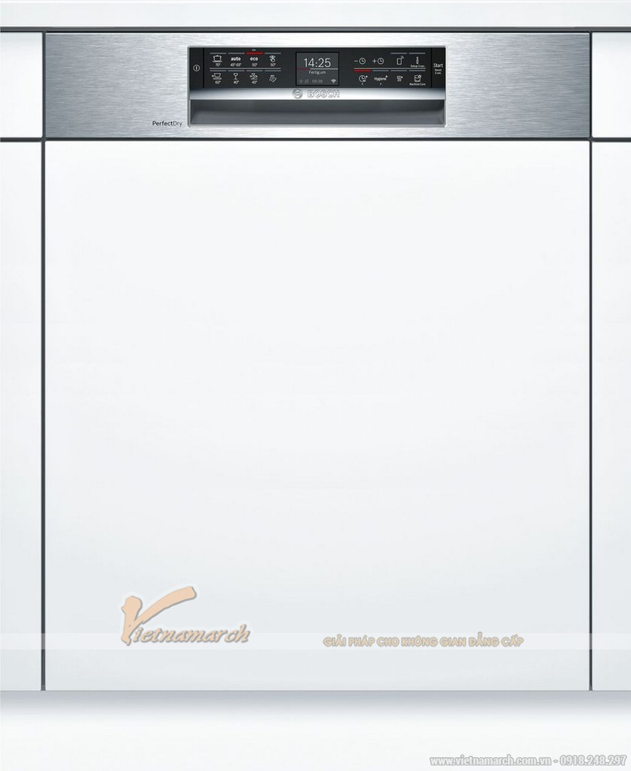 Máy rửa bát âm tủ Bosch SMI88TS36E