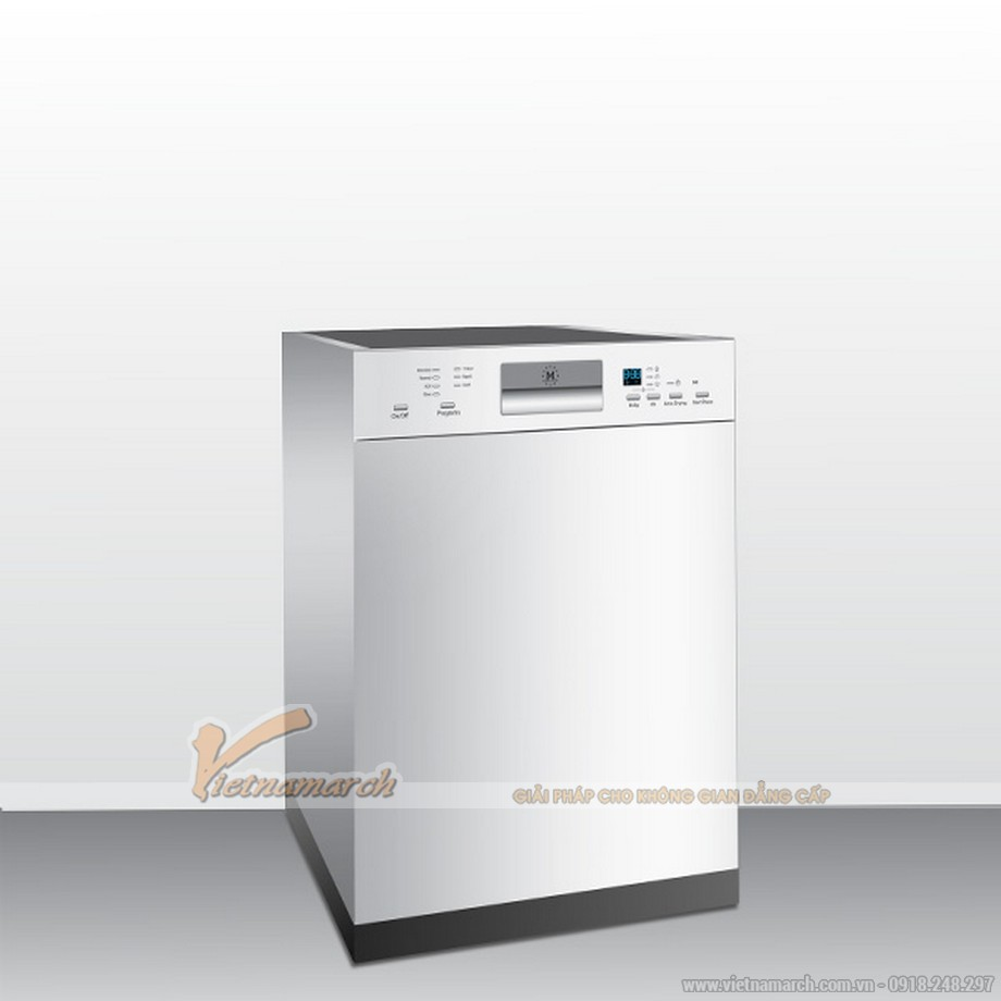 Máy rửa bát Malloca WQP12-J7309Iâm tủ