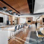 Gợi ý thiết kế phòng tiệc sang chảnh trong không gian làm việc chung