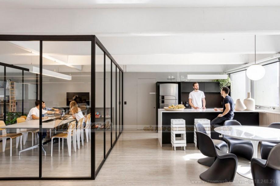 Những mẫu pantry văn phòng đẹp