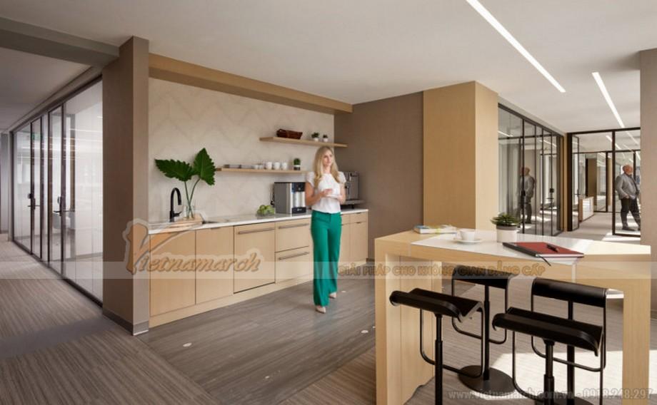 Thiết kế pantry văn phòng đẹp