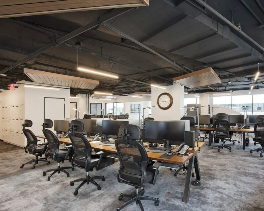 Phong cách thiết kế văn phòng Rustic