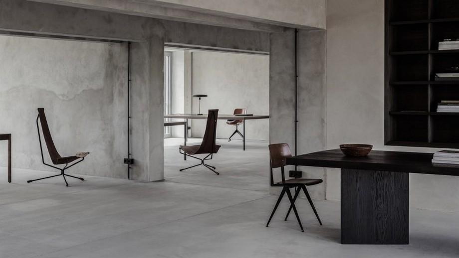 Phong cách thiết kế văn phòng thô mộc Brutalism