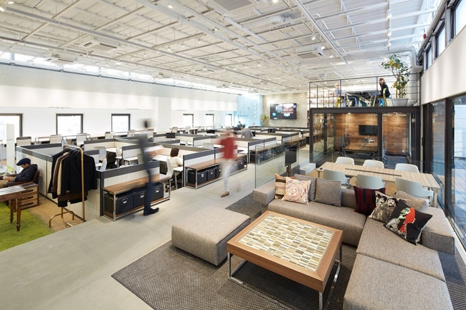 Phong cách thiết kế văn phòng Japan